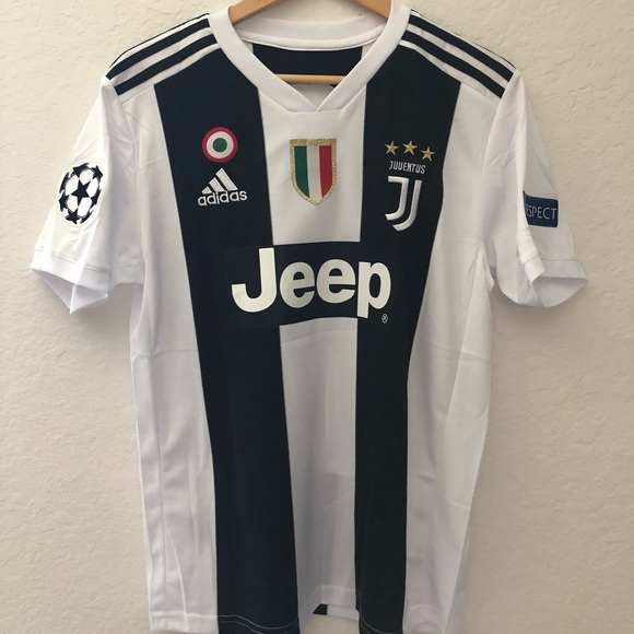 ce1372816 adidas Other | 20182019 Juventus Home Mens Jersey With Ronaldo ...